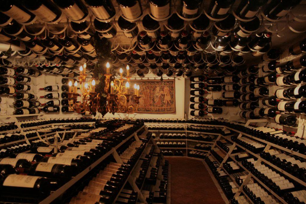 Arlberg Hospiz Wine Vault