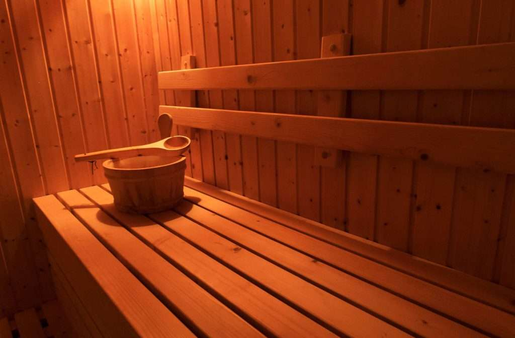 Chalet Artemis sauna