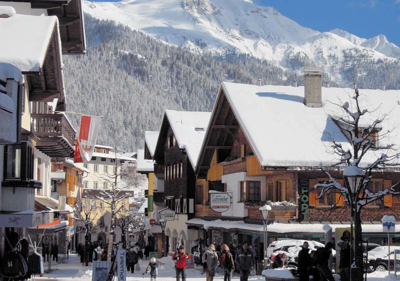 St Anton town centre - Shopping