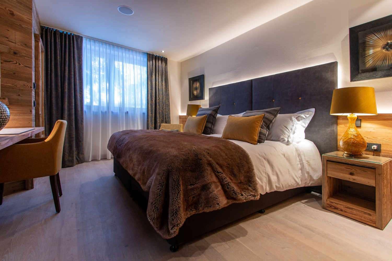 Athena bedroom in Chalet Artemis - Alternative angle