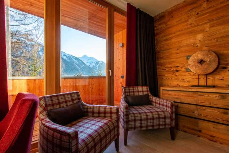 Hermes bedroom view in Chalet Artemis