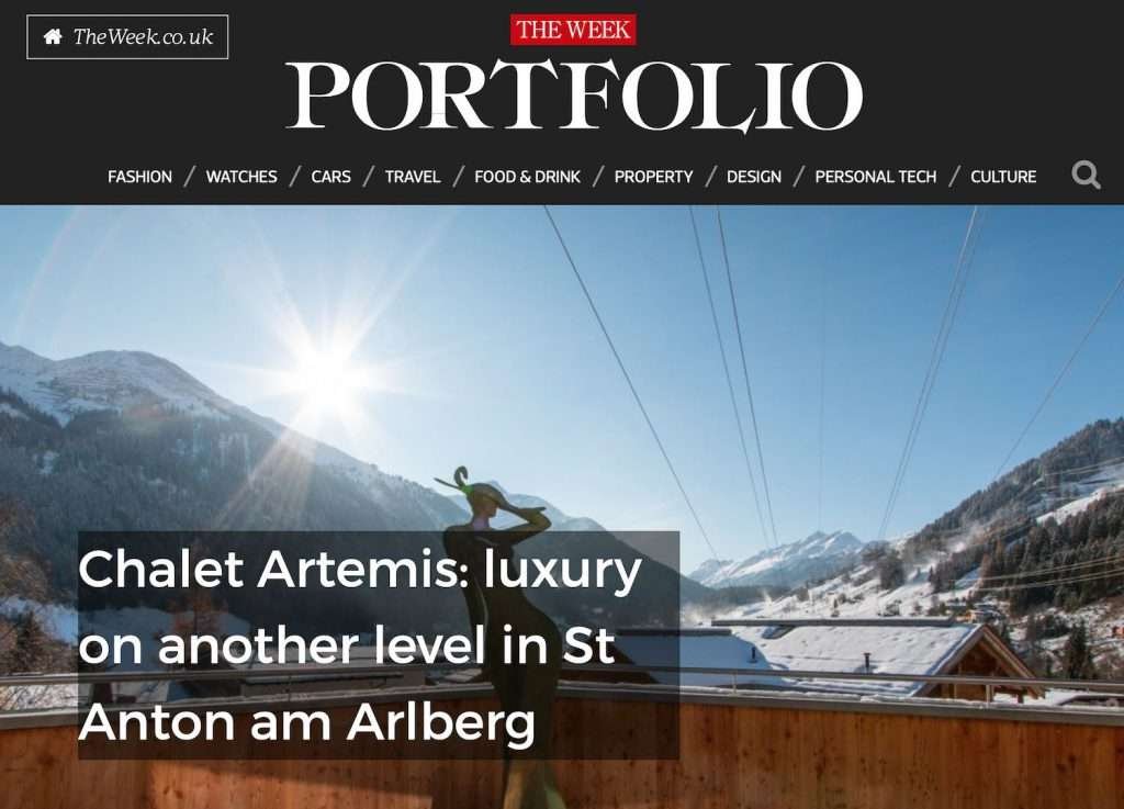 Chalet Artemis - Luxury on another level in St Anton am Arlberg - The Week Portfolio